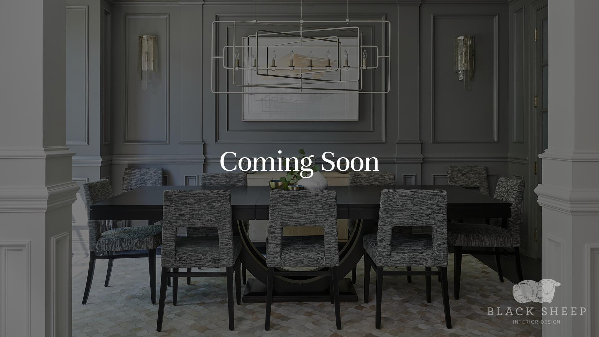 Black Sheep Interior Design St Leonards Coming Soon