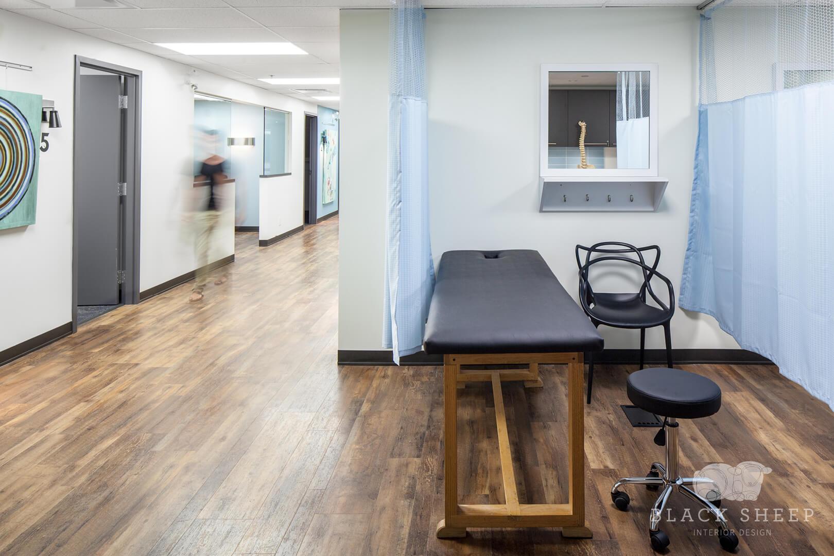 Black Sheep Interior Design - Living City Health 11