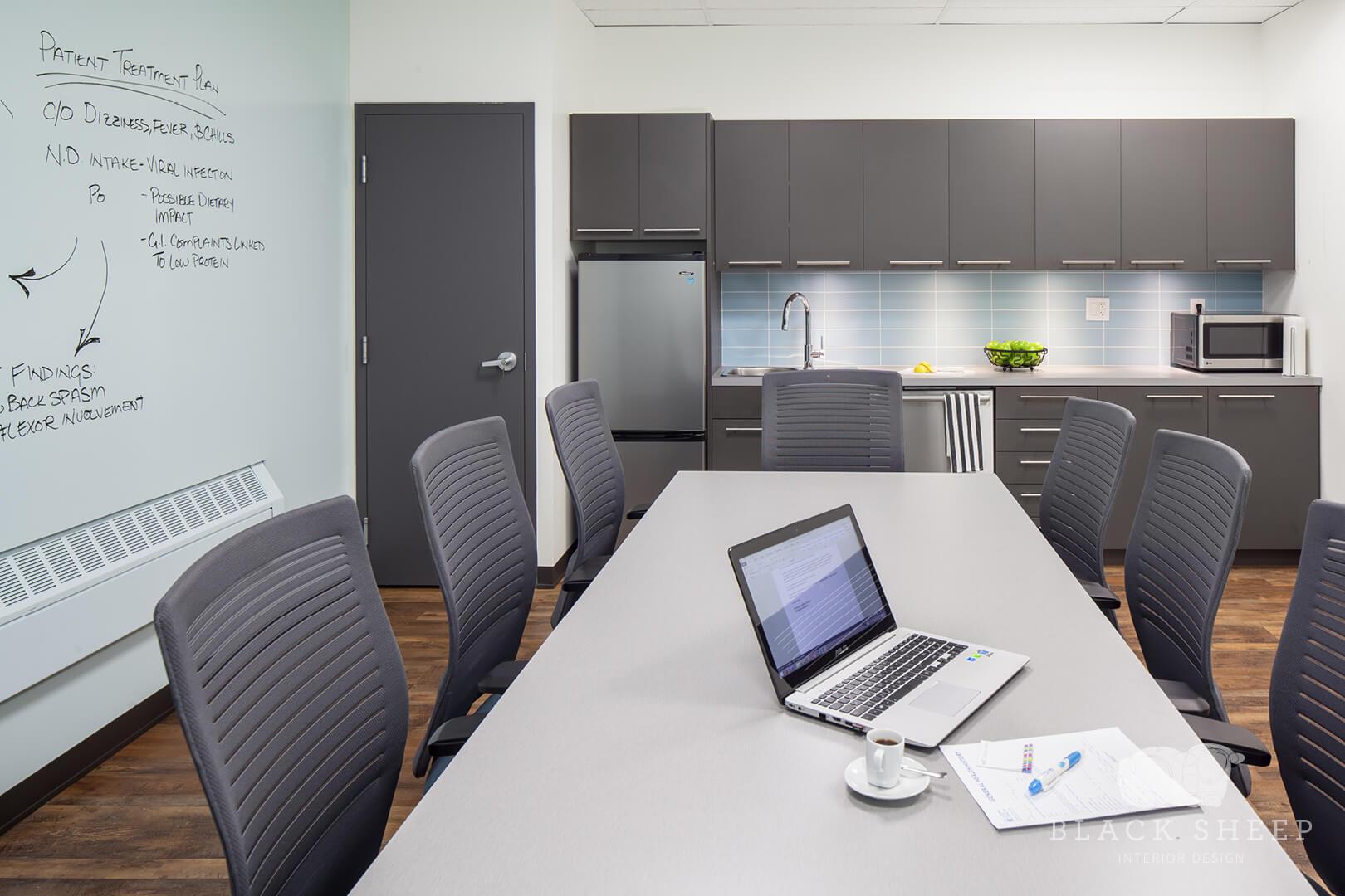 Black Sheep Interior Design - Living City Health 13