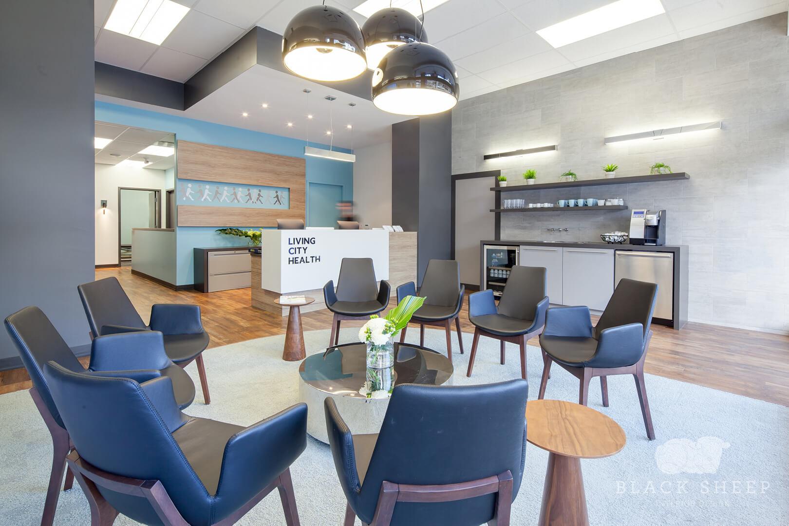 Black Sheep Interior Design - Living City Health 2