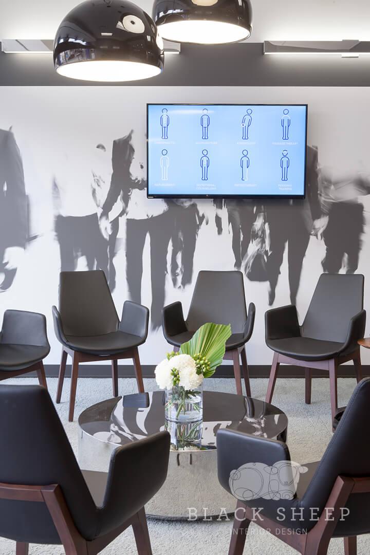 Black Sheep Interior Design - Living City Health 3