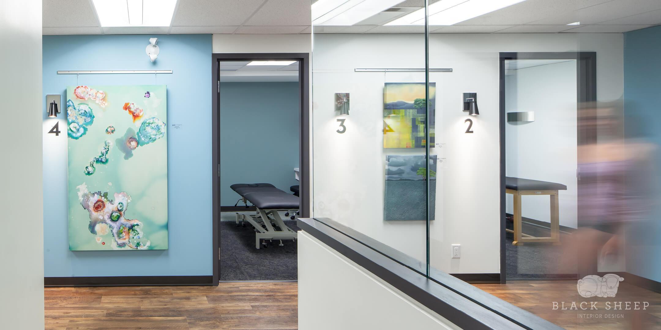 Black Sheep Interior Design - Living City Health 4