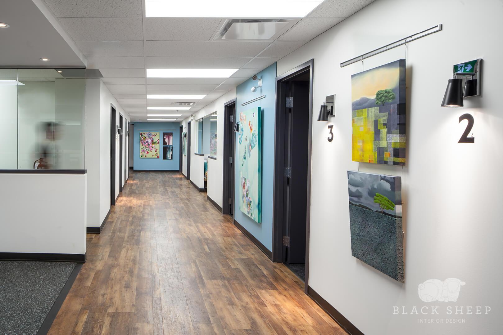 Black Sheep Interior Design - Living City Health 7
