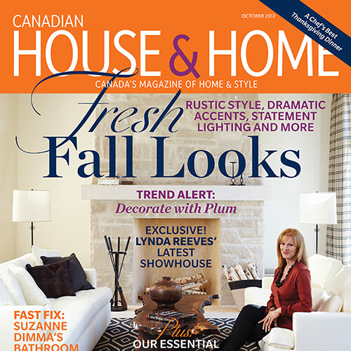 House & Home Cover 2012 October