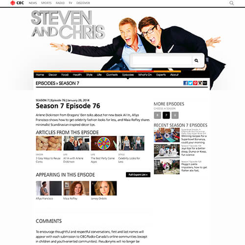 CBC Steven & Chris 2014-01-28