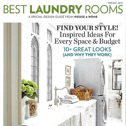House & Home, Spring 2013, Laundry Guide