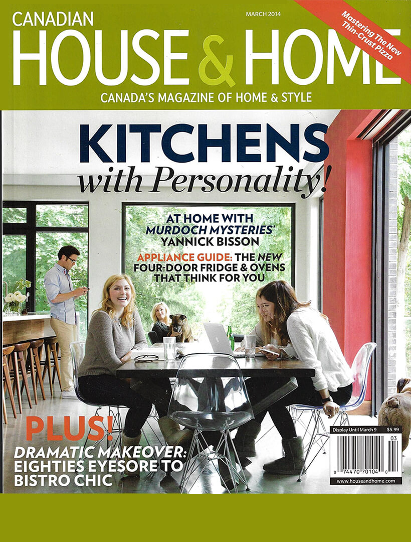 House & Home March 2014 cover