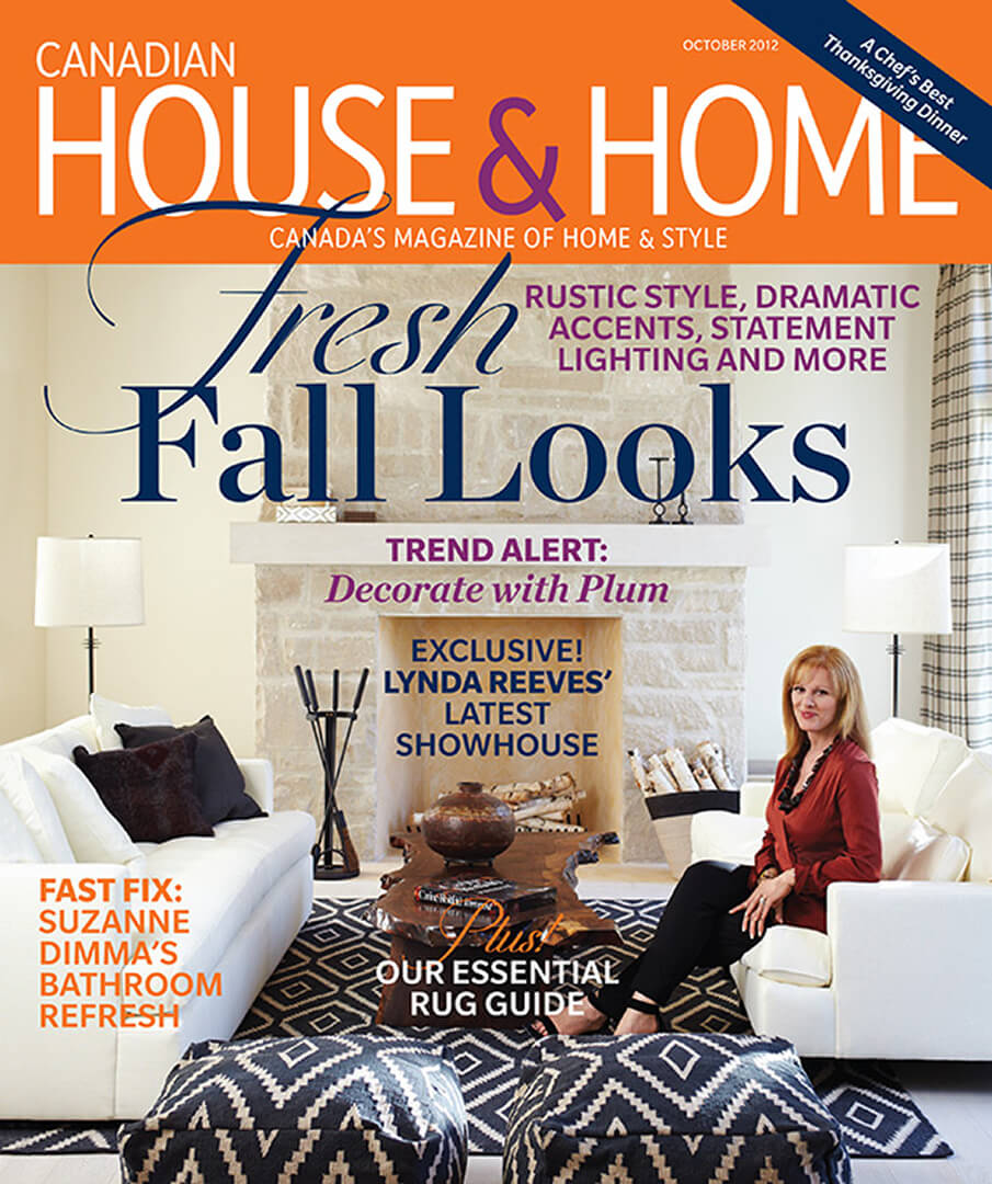 House & Home, October 2012 - cover