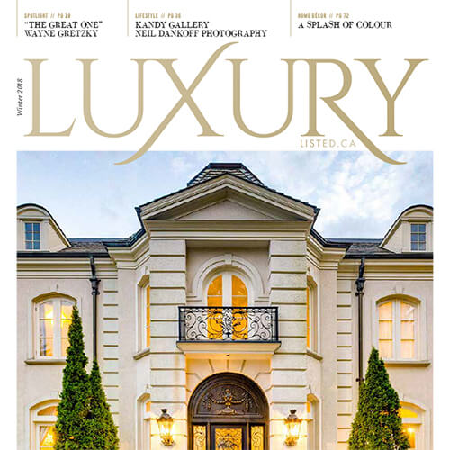 Luxury Listed Winter 2018 cover