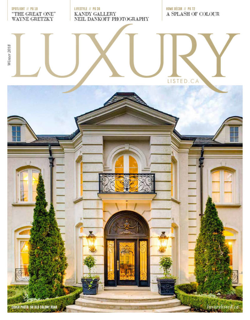 Luxury Listed, Winter 2018 - cover